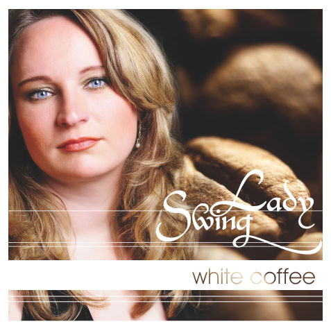 SwingLady - white coffee - CD-Cover