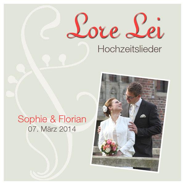 Hochzeits-CD Beispielcover